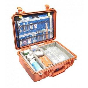 Lékařský odolný kufr Peli case EMS 1500