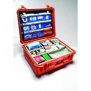 Lékařský odolný kufr Peli case EMS 1550