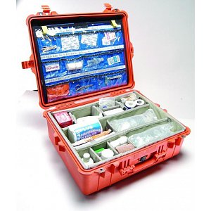 Lékařský odolný kufr Peli case EMS 1600
