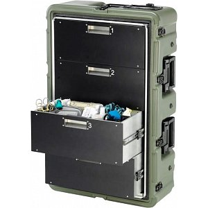Lékařský odolný kufr Peli case Medchest 34D2