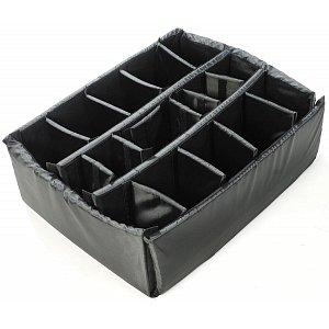 Přepážky na suchý zip pro odolný kufr PELI  case 1640