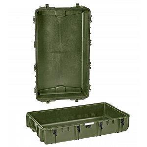 Vodotěsný kufr model 10840 zelený