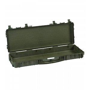 Vodotěsný kufr model 11413 zelený - na zbraně