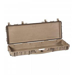 Vodotěsný kufr model 11413 pískový - na zbraně