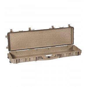 Vodotěsný kufr model 13513 pískový - na zbraně