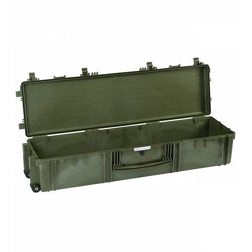 Vodotěsný kufr model 13527 zelený