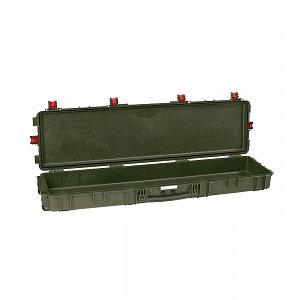 Vodotěsný kufr model 15416 zelený - na zbraně