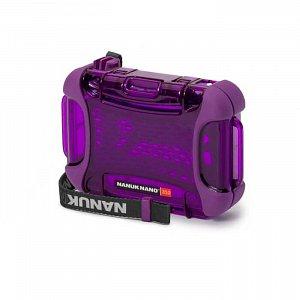 NANUK - Voděodolné pouzdro Nano 310 - fialové