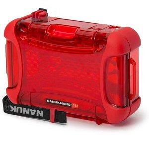 NANUK - Voděodolné pouzdro Nano 330 - červené