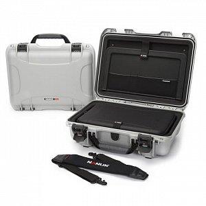 NANUK - Odolný kufr model 923 na laptop - stříbrný