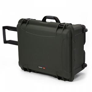 NANUK - Odolný cestovní kufr model 950 - zelený