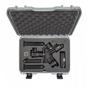 NANUK - Odolný kufr model 923 na stabilizátor DJI Ronin-S - stříbrný