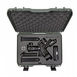 NANUK - Odolný kufr model 923 na stabilizátor DJI Ronin-S - zelený
