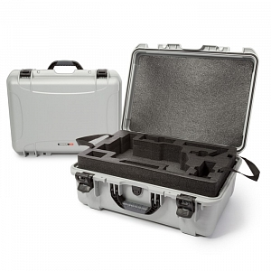 NANUK - Odolný kufr model 940 na gimbal DJI Ronin-M - stříbrný