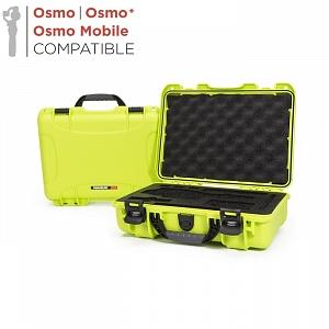 NANUK - Odolný kufr model 910 na stabilizátory DJI Osmo - limetkový