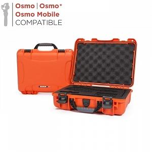 NANUK - Odolný kufr model 910 na stabilizátory DJI Osmo - oranžový