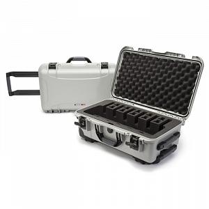 NANUK - Odolný kufr model 935 6UP Pistol - stříbrný
