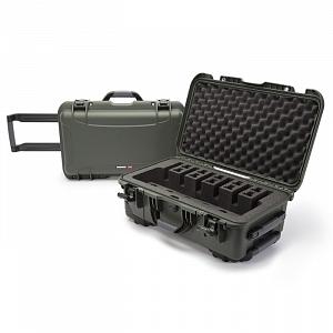 NANUK - Odolný kufr model 935 6UP Pistol - zelený