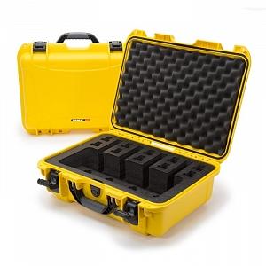 NANUK - Odolný kufr model 925 4UP Pistol - žlutý