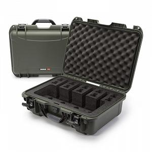 NANUK - Odolný kufr model 925 4UP Pistol - zelený