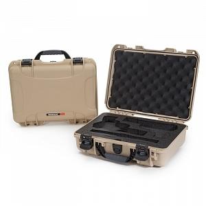 NANUK - Odolný kufr model 910 2UP Classic Pistol - pískový