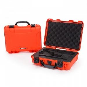 NANUK - Odolný kufr model 910 2UP Classic Pistol - oranžový