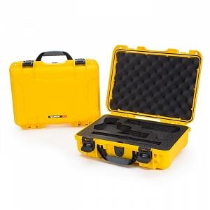 NANUK - Odolný kufr model 910 2UP Classic Pistol - žlutý