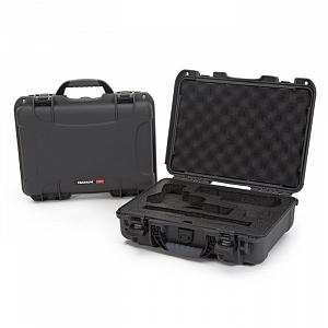 NANUK - Odolný kufr model 910 2UP Classic Pistol - šedý