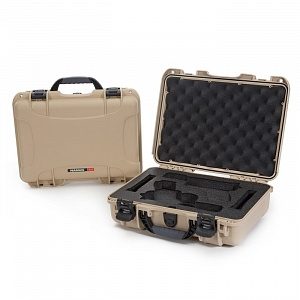 NANUK - Odolný kufr model 910 2UP Glock Pistol - pískový