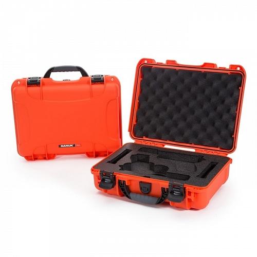 NANUK - Odolný kufr model 910 2UP Glock Pistol - oranžový