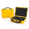 NANUK - Odolný kufr model 910 2UP Glock Pistol - žlutý