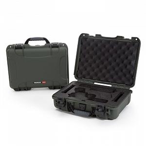 NANUK - Odolný kufr model 910 2UP Glock Pistol - zelený