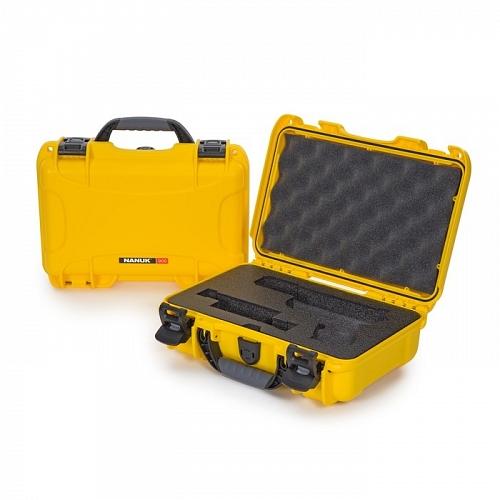 NANUK - Odolný kufr model 909 Glock Pistol - žlutý