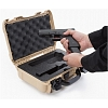 NANUK - Odolný kufr model 909 Glock Pistol - stříbrný