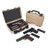 NANUK - Odolný kufr model 909 Classic Pistol - žlutý