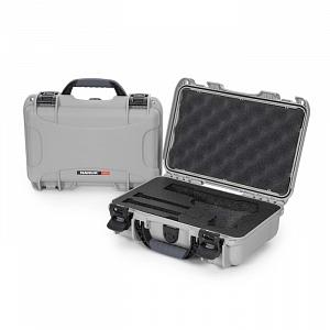 NANUK - Odolný kufr model 909 Classic Pistol - stříbrný
