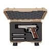 NANUK - Odolný kufr model 909 Classic Pistol - šedý