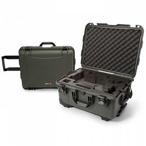 NANUK - Odolný kufr model 950 na gimbal DJI Ronin-M - zelený