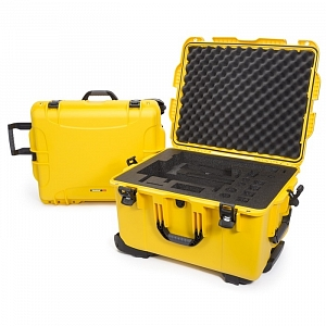 NANUK - Odolný kufr model 960 na gimbal DJI Ronin-MX - žlutý