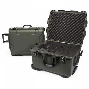 NANUK - Odolný kufr model 960 na gimbal DJI Ronin-MX - zelený