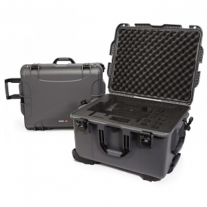 NANUK - Odolný kufr model 960 na gimbal DJI Ronin-MX - šedý