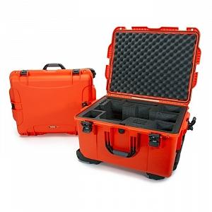 NANUK - Odolný kufr model 960 na kameru Black Magic URSA - oranžový