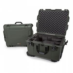 NANUK - Odolný kufr model 960 na kameru Black Magic URSA - zelený